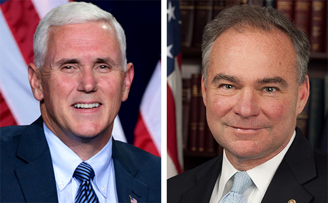 Kaine and Pence