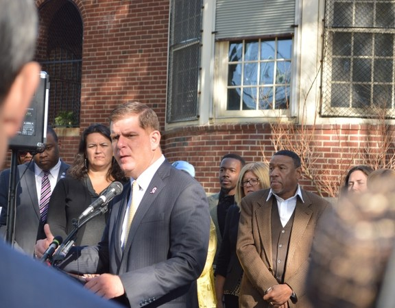 Mayor Marty Walsh discussed affordable housing.
