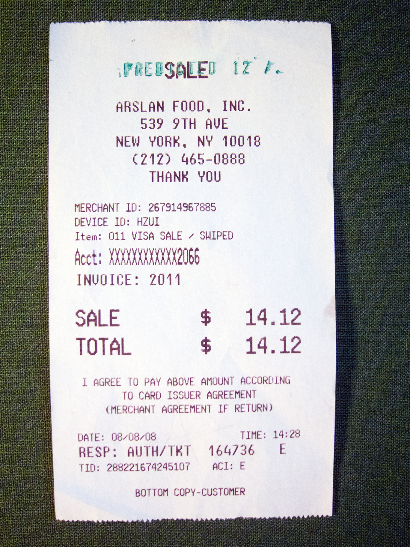 Receipt predicted 12%. Exhibition view, Neuberger Museum of Art, New York, 2009.