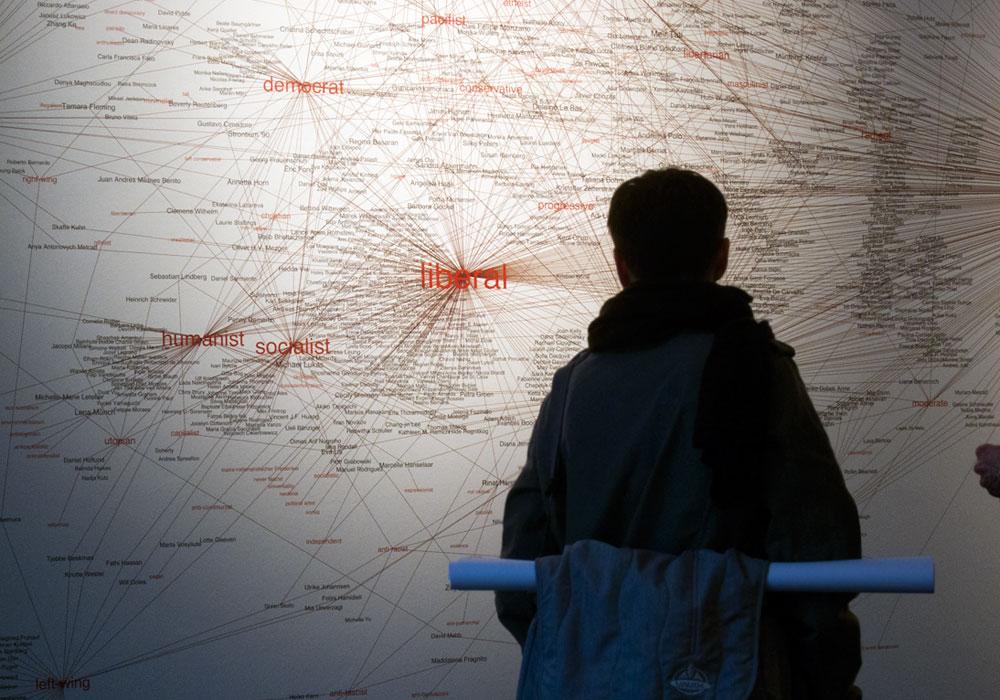 Exhibition view, 7th Berlin Biennial, 2012.
