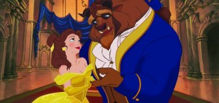 """Disney """"Beauty & the Beast 3D"""" (L-R) Belle & the Beast. ©2011 Disney. All Rights Reserved."""