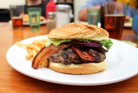 Proper burger.