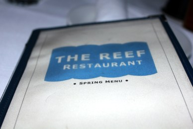 The Reef has no beef.