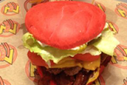 2-for-1 Heart-Shaped Burgers at Z-Burger for V-Day