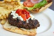 Flay's Basil Ketchup & Mozzarella Burgers Win July [BOTM Review]