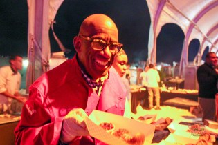Al Roker's grin is kinda creepy.