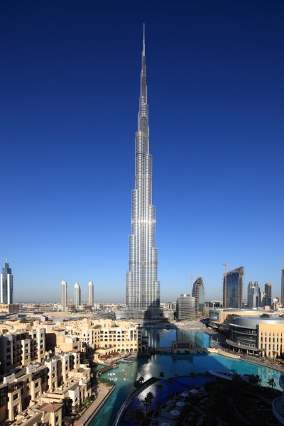 High quality concrete for Burj Khalifa - Burj Khalifa tickets