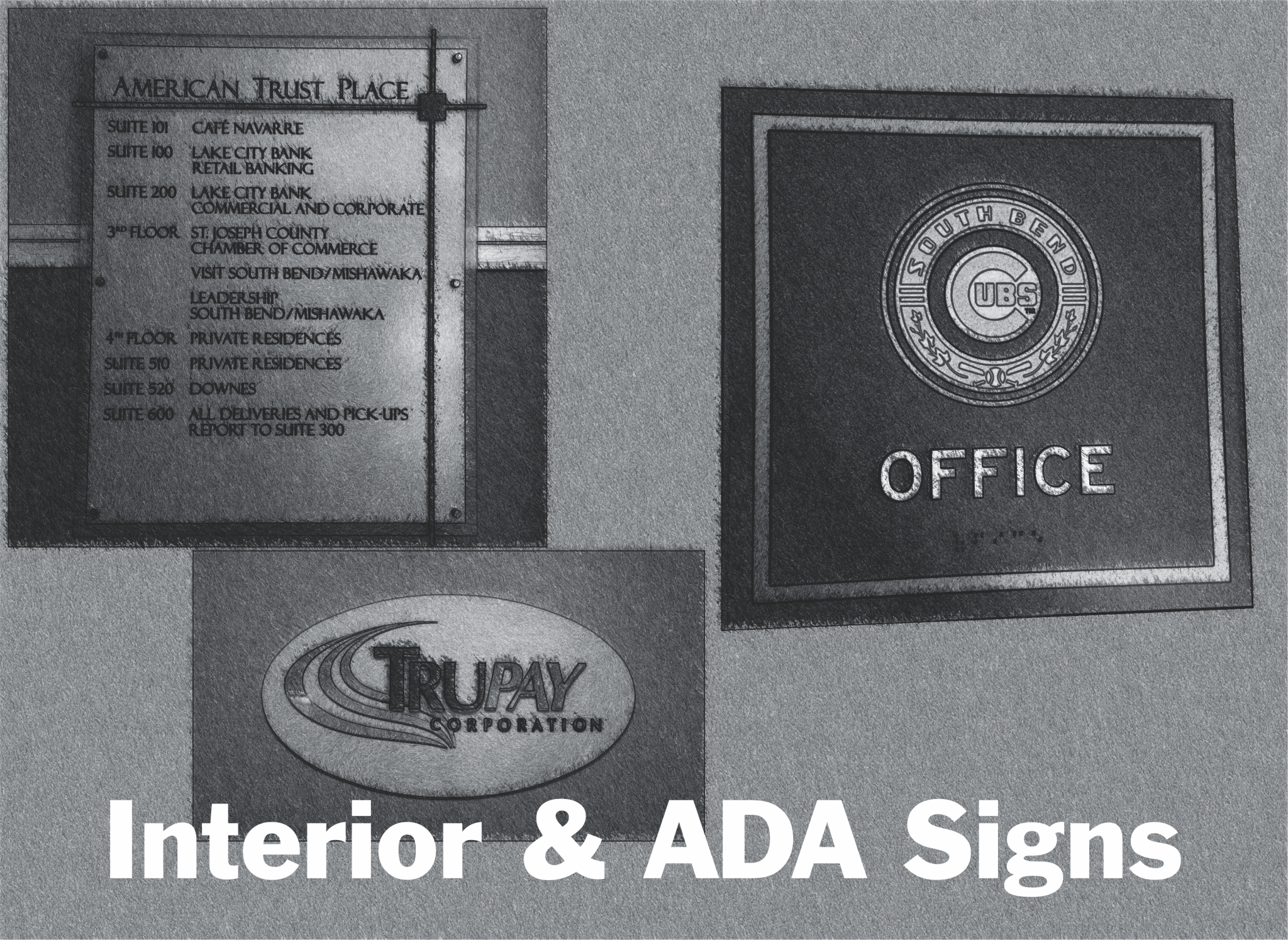 Interior and ADA Signs