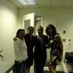 Esperanza Medina, Susana Mendoza, Me, & Lourdes Duarte (WGN)
