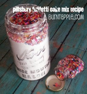 pillsbury funfetti cake mix recipe