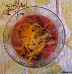 {Freezer Meal} Taco Soup