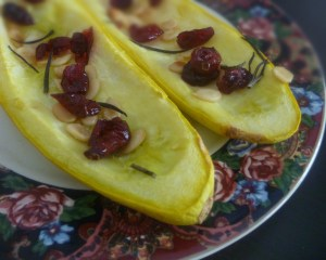 Cranberry Rosemary Squash