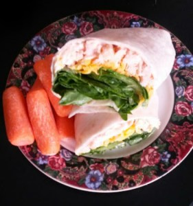 Turkey Club Wrap