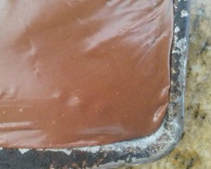 lightened up texas sheet cake