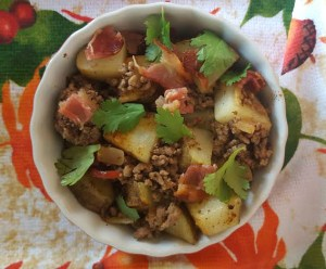 Bacon Sweet Potato Chili