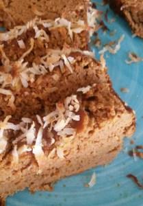 Pumpkin Coconut Loaf