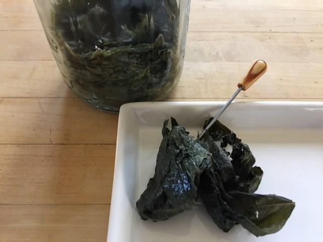 Salt Shiso Pickles