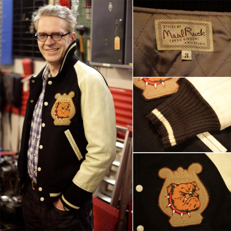 Rare Takeo Kikuchi letterman jacket