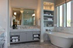 Small Of Gray Bathroom Vanity