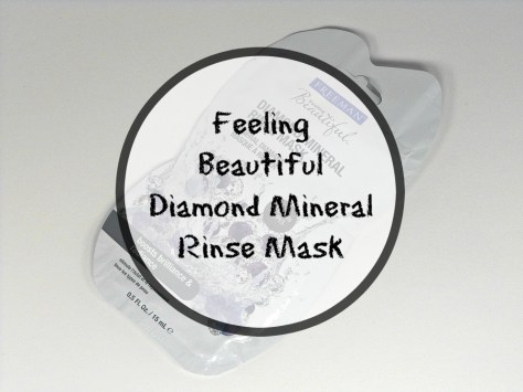 Feeling Beautiful Diamond Mineral Rinse Mask