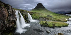 wodospad super widok islandia