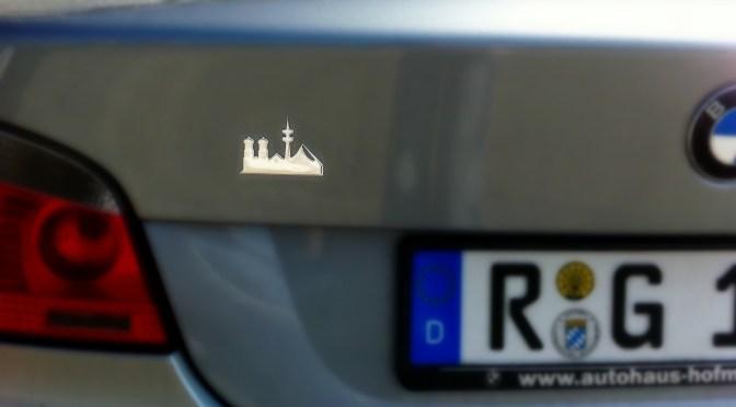 Münchner Auto Pickerl- die Lieblingsstadt to go!