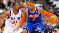 NBA: Preseason-New York Knicks at Philadelphia 76ers