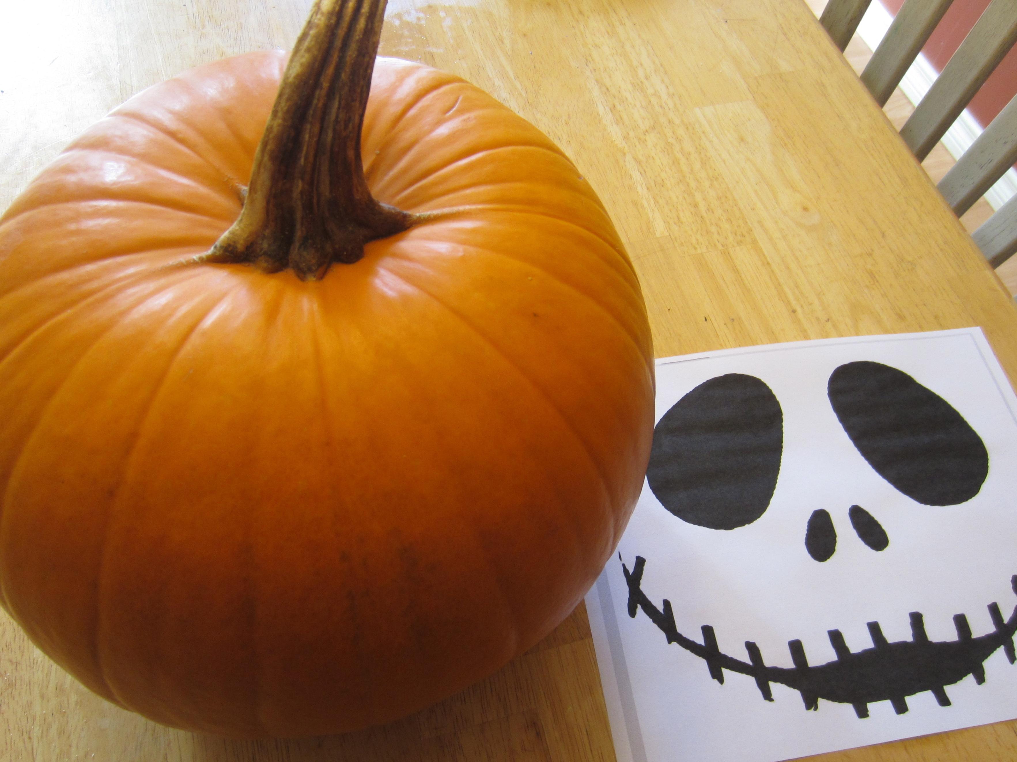 Fullsize Of Jack Skellington Pumpkin Carving