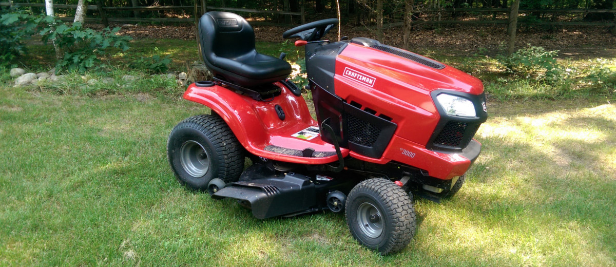 2014 Craftsman 30 Hp Garden Tractor : Craftsman quot turn tight fast riding mower busted wallet