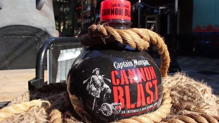 cannon blast shot