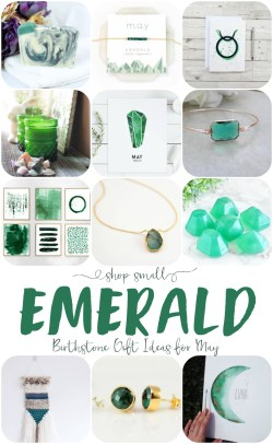Bodacious May A New Month Means That Its Time Se Emerald Gift Ideas A New Birthstone Gift Idea List This Months Birthstone Is Emerald So Lets Get To Shopping Small