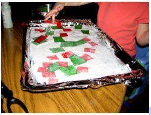 Christmas craft tutorial 1