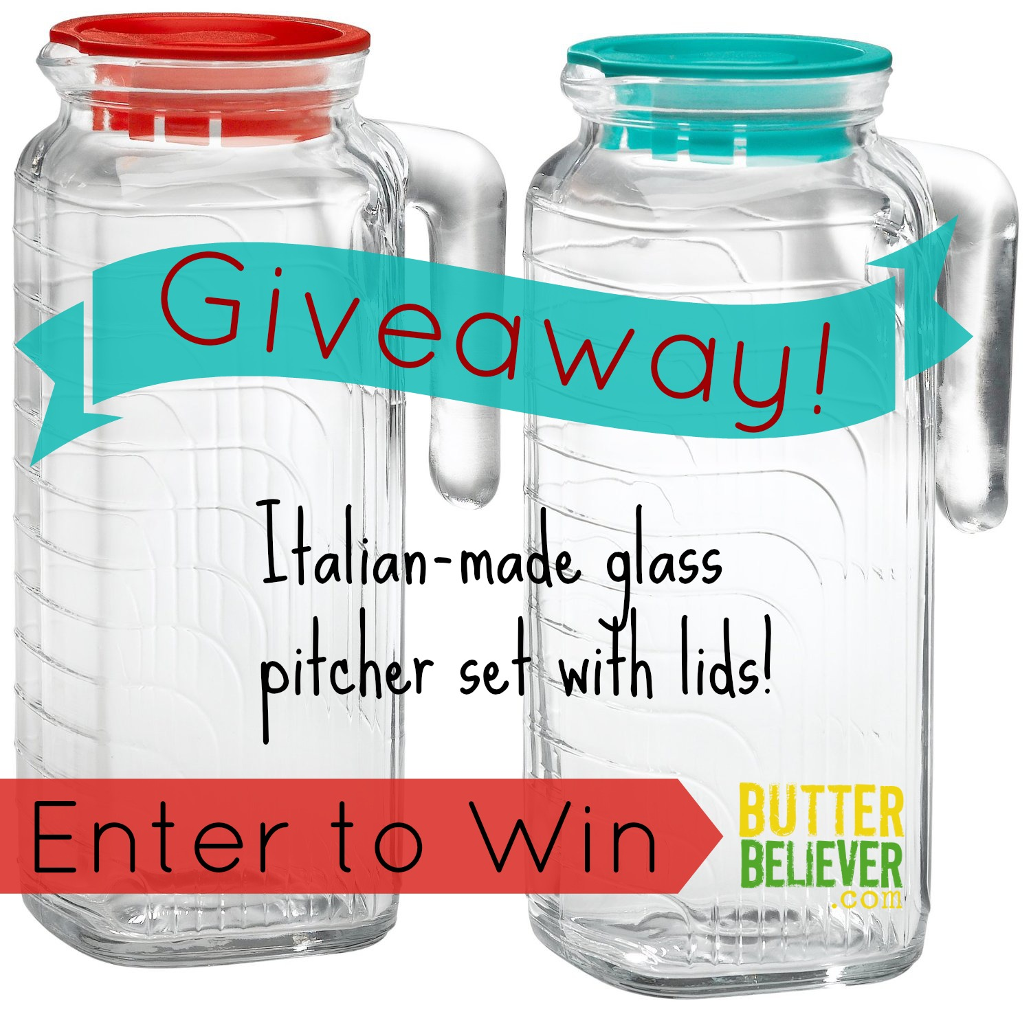 Cheerful Lids From Butter Glass Pitcher Set Butter Believer Small Glass Pitcher Lid Canada Lid Glass Pitcher Glass Pitchers Enter To Win A Set houzz 01 Glass Pitcher With Lid