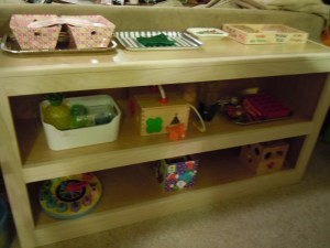 new activity shelf