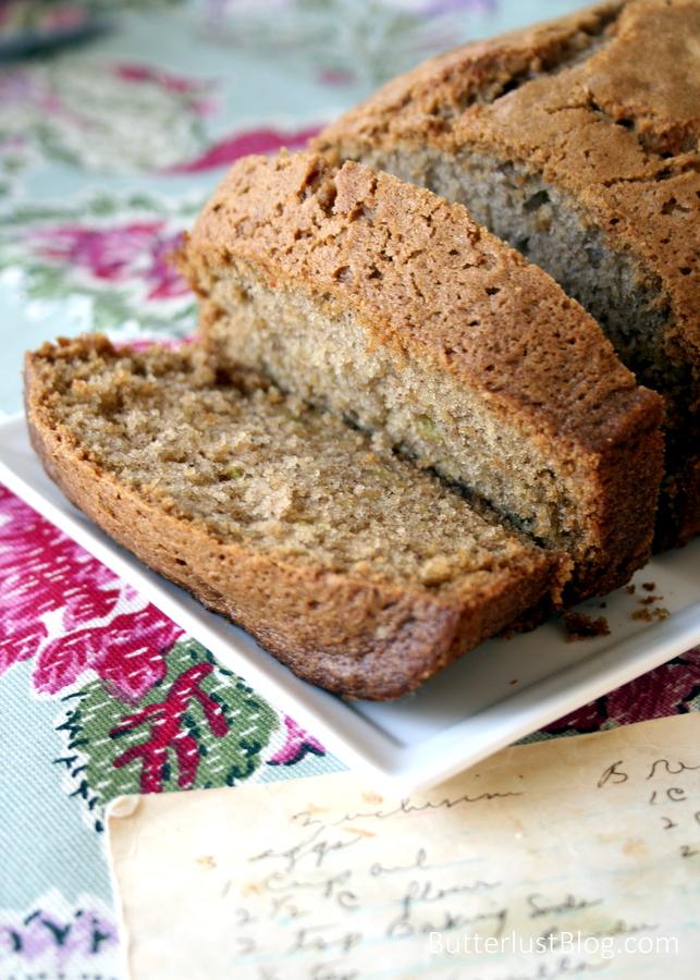Grandmas zucchini bread butterlust forumfinder Choice Image
