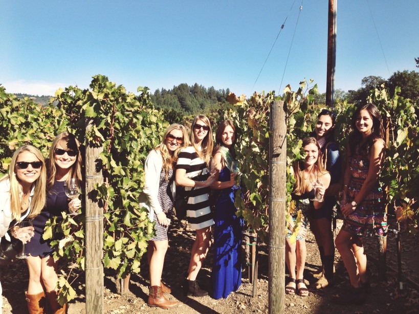 winery girls