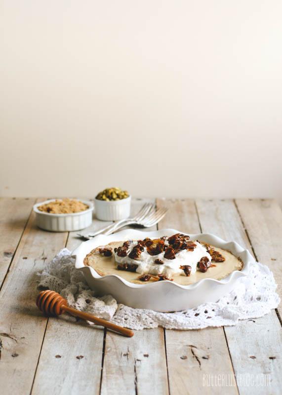 ... with Vanilla Shortbread Cookie Crust & Honeyed Pistachios - Butterlust