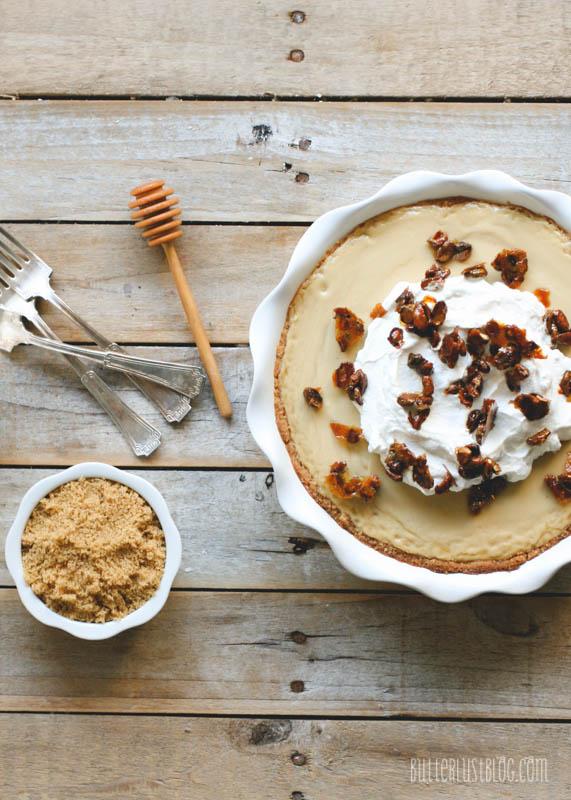 Butterscotch Pie with Vanilla Shortbread Cookie Crust ...