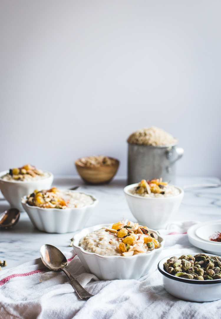 Coconut Brown Rice Kheer // butterlust.com