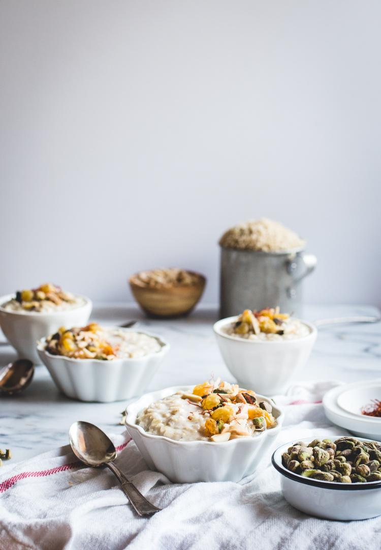 Coconut Brown Rice Kheer // butterlust.com