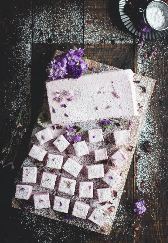 Hibiscus Marshmallows // butterlust.com