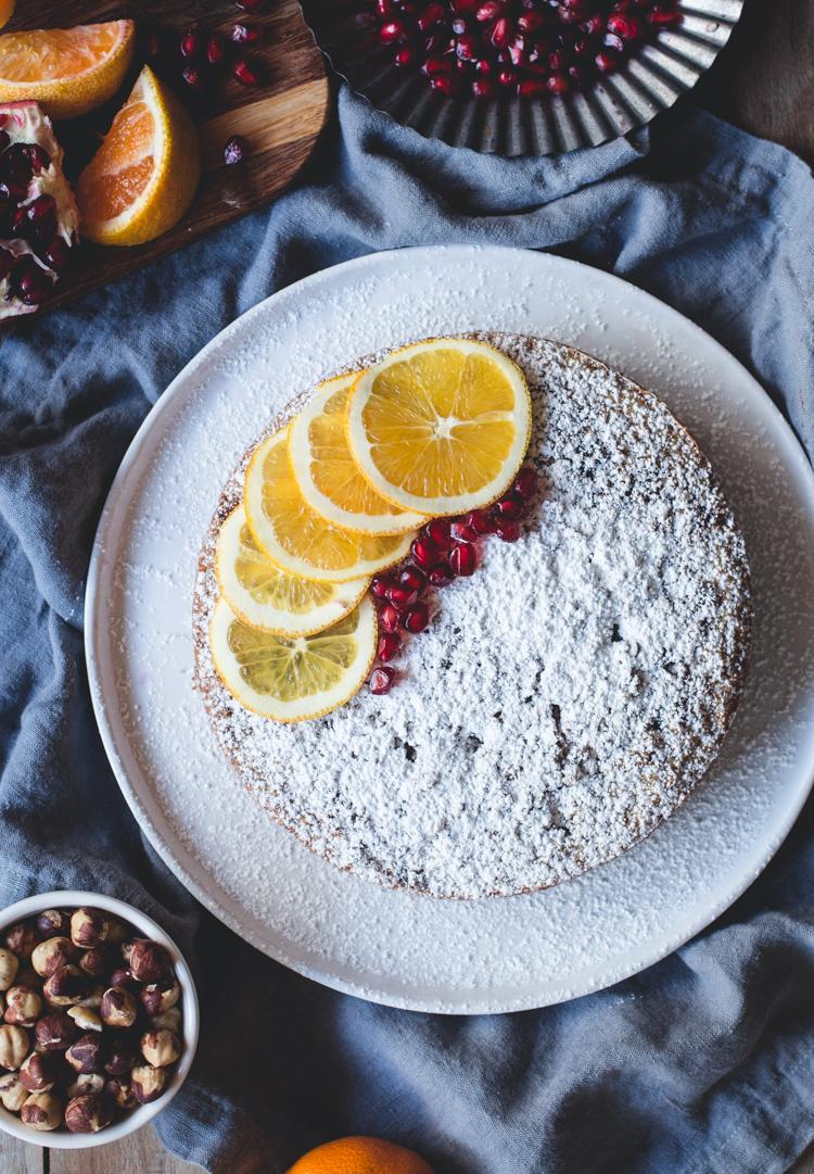 Satsuma & Hazelnut Cake // butterlust.com @butterlustblog