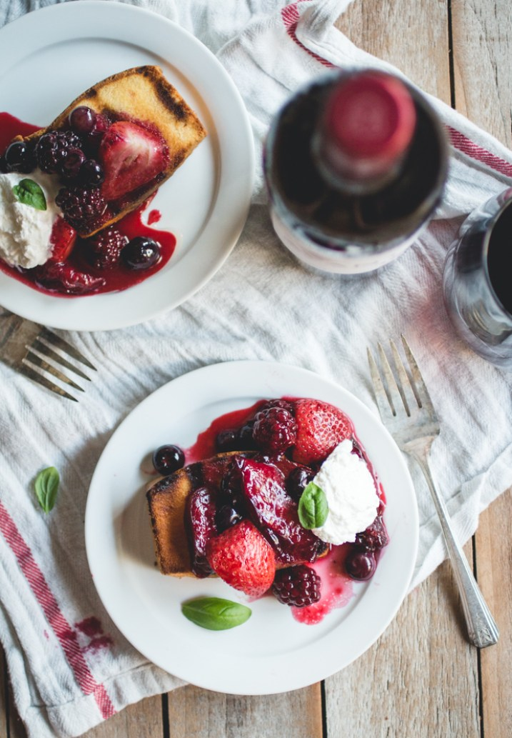 Mixed Berry & Plum Hobo Packs + Grilled Pound Cake // butterlust.com @butterlustblog