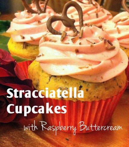 Straciatella Cupcakes I Butterlust Blog