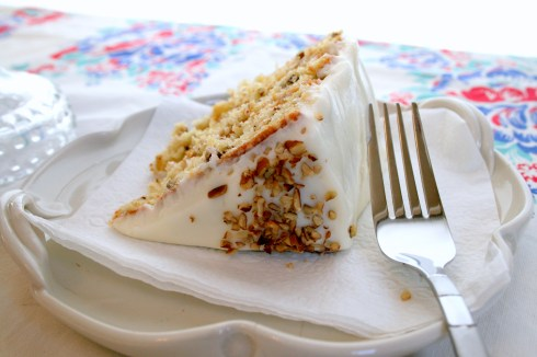 Italian Cream Cake | ButterLust Blog
