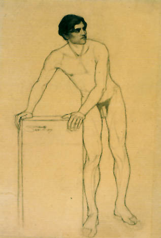 Early drawing by Egon Schiele