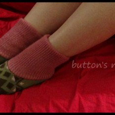 Pink slipper socks2