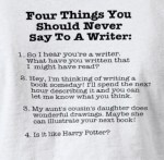 Top Five T-shirts About Writing