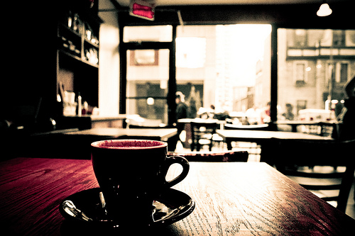Montreal Cafe (photo by Flickr user Jason McCandless)