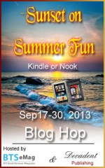 Sunset on Summer Fun Blog Hop: Enter to win a Kindle Fire or Nook HD